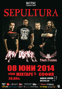 POSTER SEPULTURA all bands